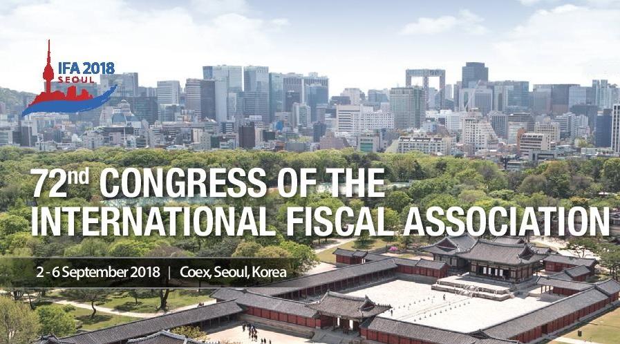 През м. Септември в Сеул, Южна Корея, се проведе 72-ри Конгрес на Международната Фискална Асоциация